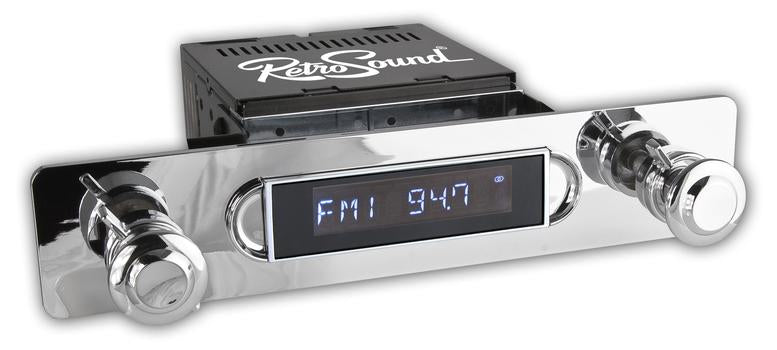 Retrosound Apache Classic Spindle Style Radio with Bluetooth USB by Retrosound - CarAudioStuff