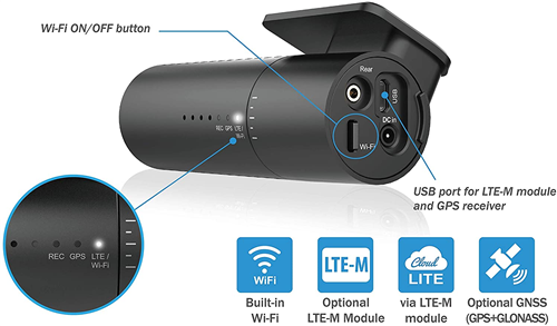 Blackvue Full HD Front & Rear Dash Cam with Wi-Fi DR590X 2Ch by Blackvue - CarAudioStuff