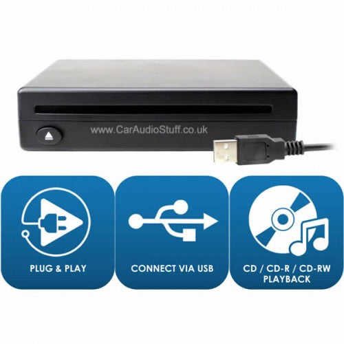 Plug and Play USB CD for BMW X1 2018 onwards by Connects2 - CarAudioStuff