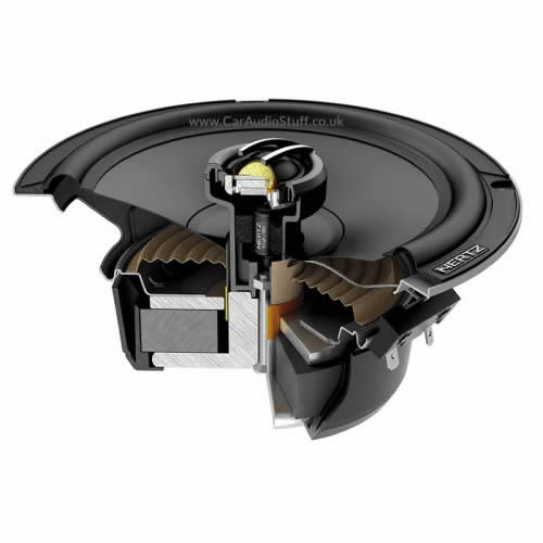 Hertz Cento CPX 165 Pro car audio coaxial speaker by Hertz - CarAudioStuff
