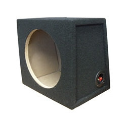 "Connects2 Carpeted 10"" Subwoofer Sealed Enclosure 10SB-S by Connects2 - CarAudioStuff"