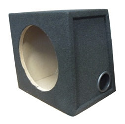 "Connects2 Carpeted 12"" Subwoofer Ported Enclosure 12SB-P by Connects2 - CarAudioStuff"