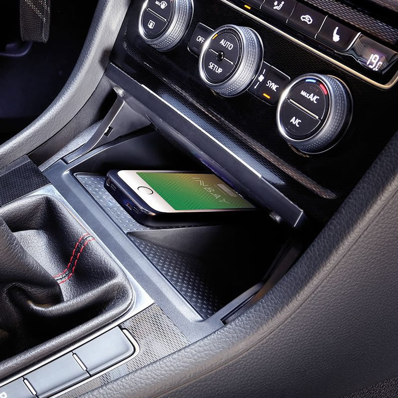 Wireless charging pocket - VW Golf MK7 by Connects2 - CarAudioStuff