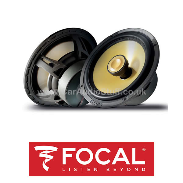 Focal K2 POWER 6.5 inch (16.5cm) 2-Way Coaxial Speaker set with Grilles - EC-165K by Focal - CarAudioStuff