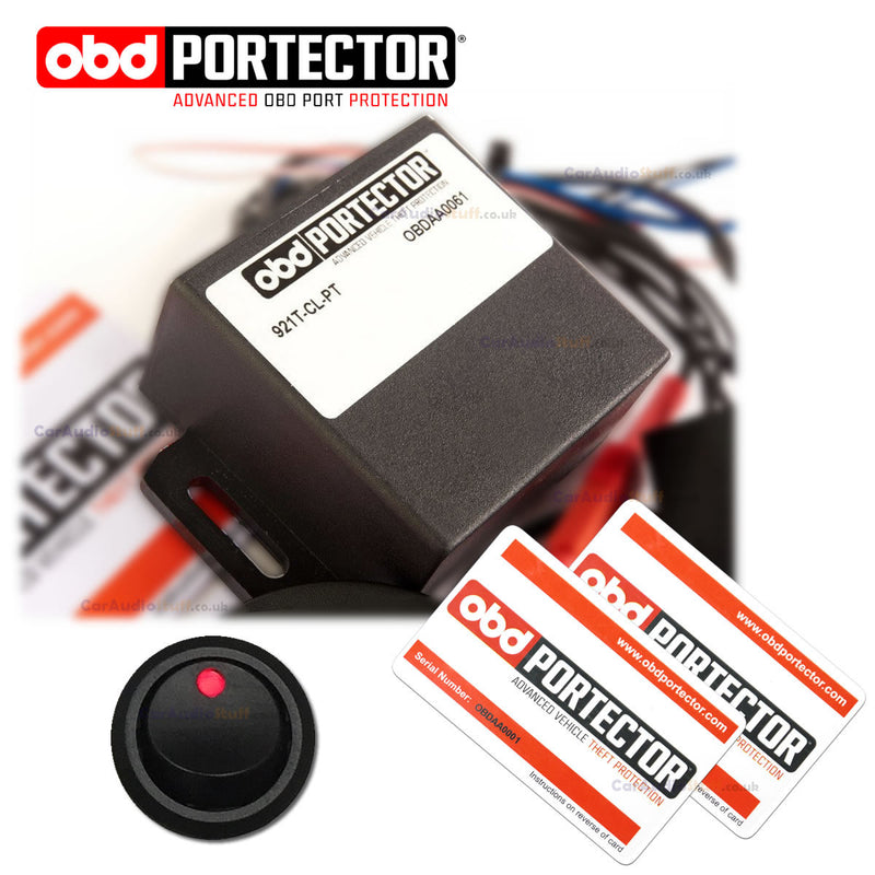 Advanced On Board Diagnostic Port Protection - OBD Portector by CAS - CarAudioStuff