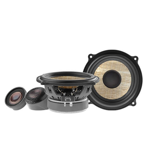 Focal Flax Evo 6.5 inch (165mm) 2-Way Component Speaker set with Grilles - PS-130FE by Focal - CarAudioStuff