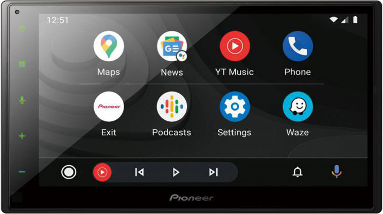 "Pioneer 6.8"" Touch Screen DAB Headunit with CarPlay and Android Auto SPH-DA160DAB by Pioneer - CarAudioStuff"