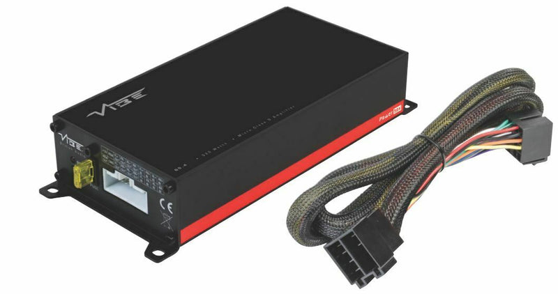 Vibe 4 Channel Class D Plug & Play ISO Amplifier 4 x 65w Powerbox65.4M by Vibe - CarAudioStuff