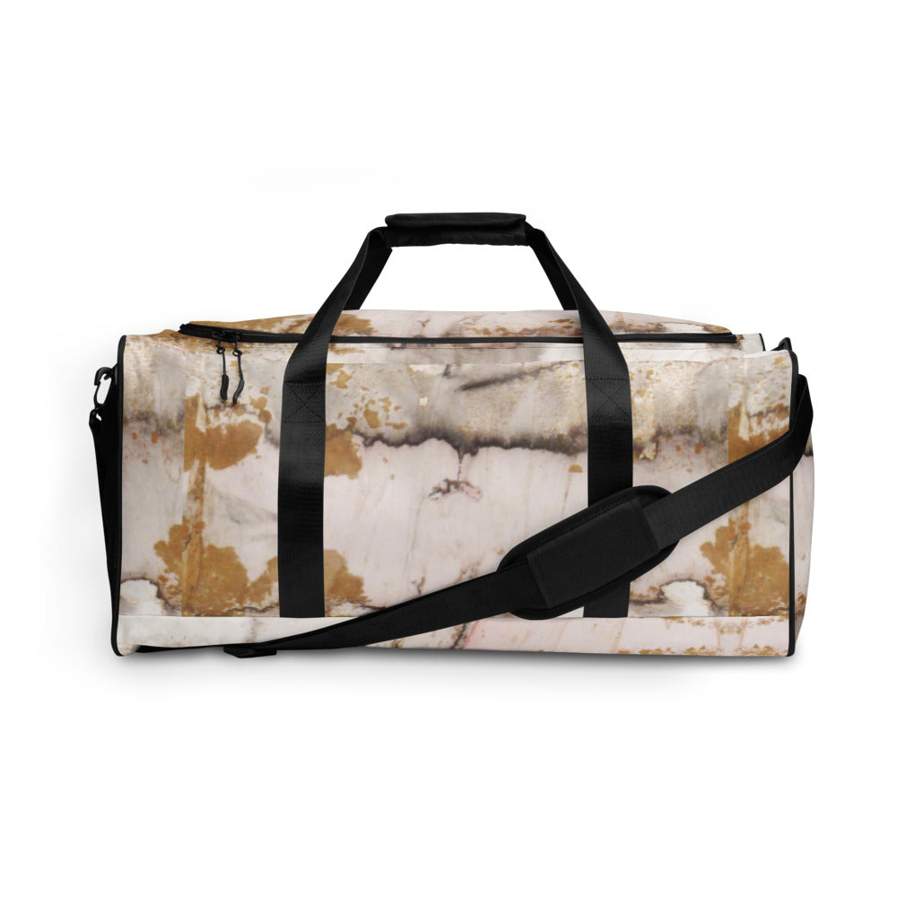Gold Marble Duffle bag