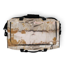 Load image into Gallery viewer, Gold Marble Duffle bag