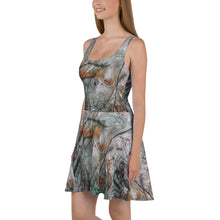Load image into Gallery viewer, Ash Teal Skater Dress