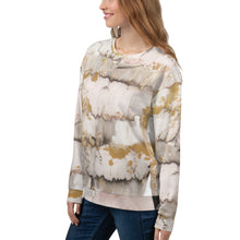 Load image into Gallery viewer, Gold Marble Unisex Sweatshirt