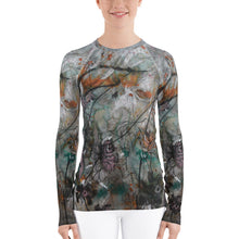 Load image into Gallery viewer, Ash Teal Women's Rash Guard