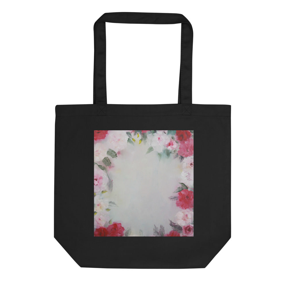 Rose Wreath Eco Tote Bag