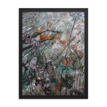 Load image into Gallery viewer, Ash Teal Framed Poster