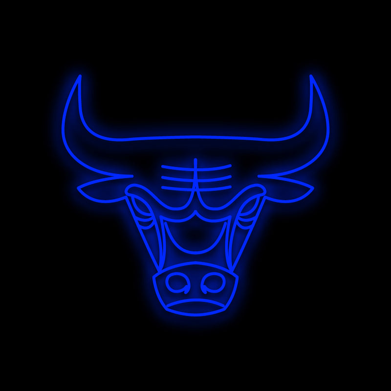 Chicago Bulls Neon Sign