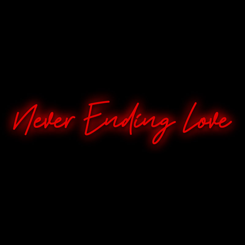 Never Ending Love Neon Sign