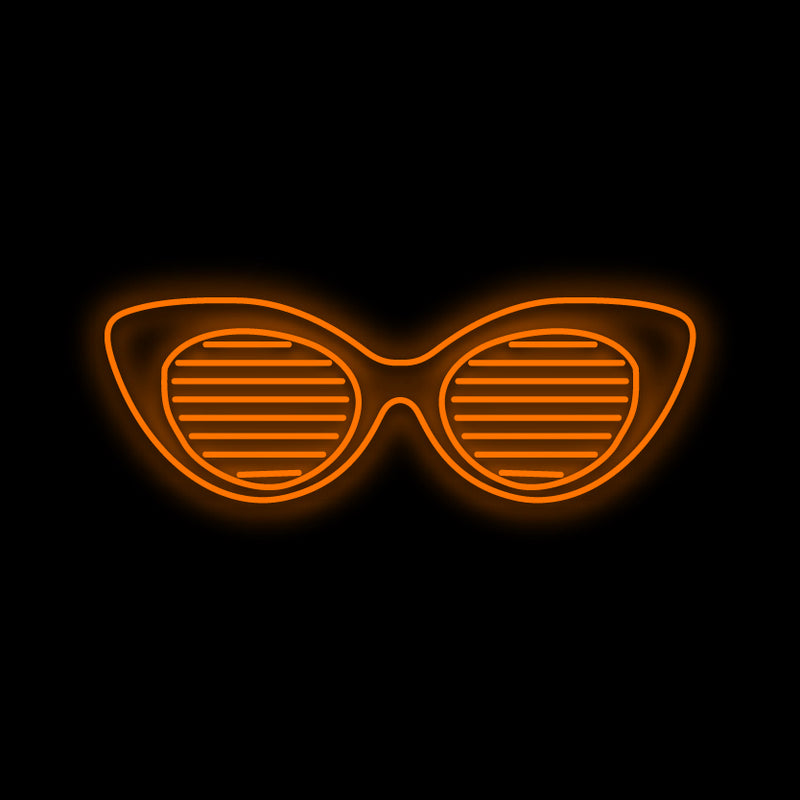 Sun Glasses Neon Sign