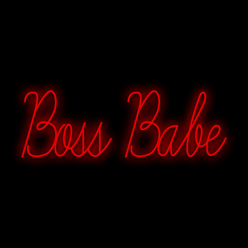 Boss Babe Neon Sign