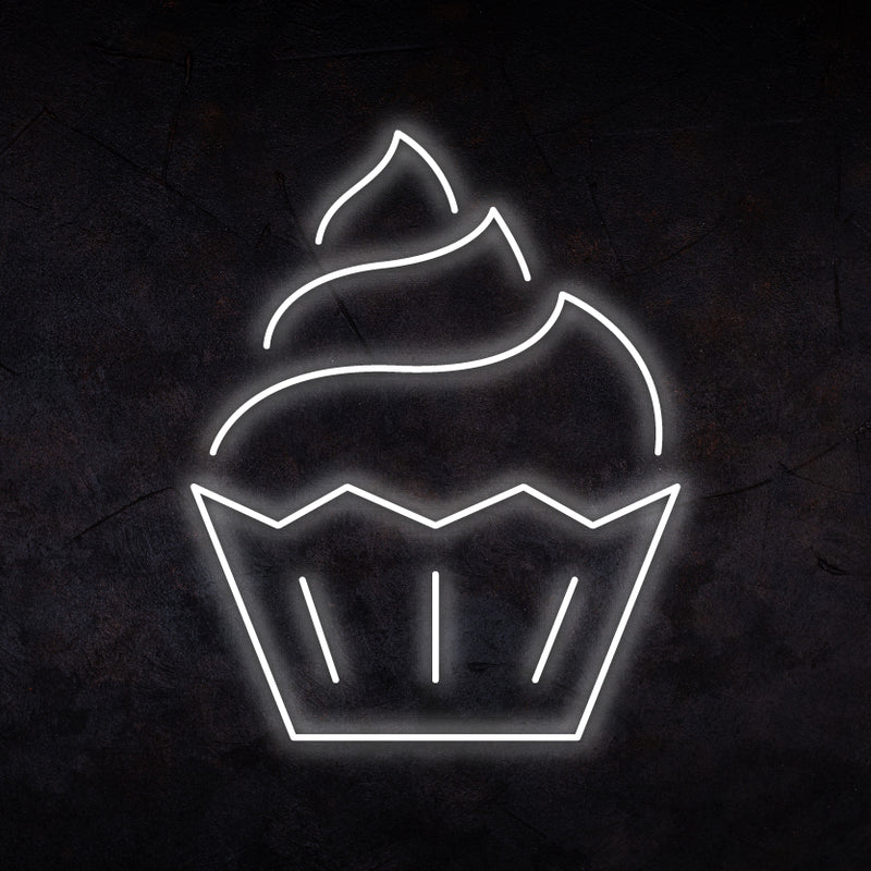Cupcake Neon Sign