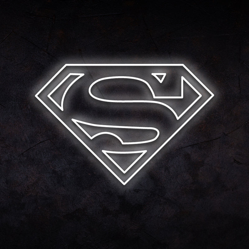 Superman Neon Sign