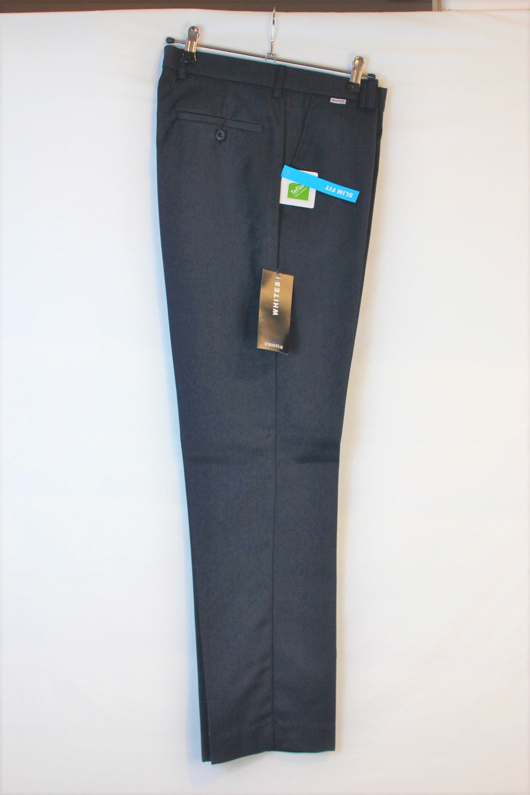 Whites slim trousers Black