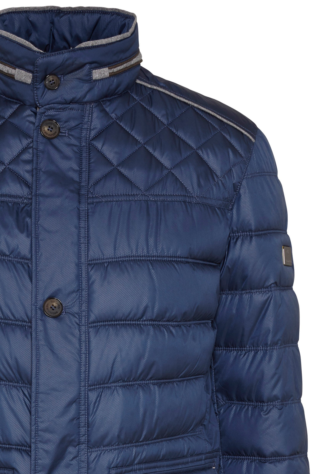 Bugatti Quilted Jacket Blue 69014/380