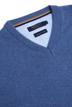 Load image into Gallery viewer, Benetti V-Neck Poseidon Blue