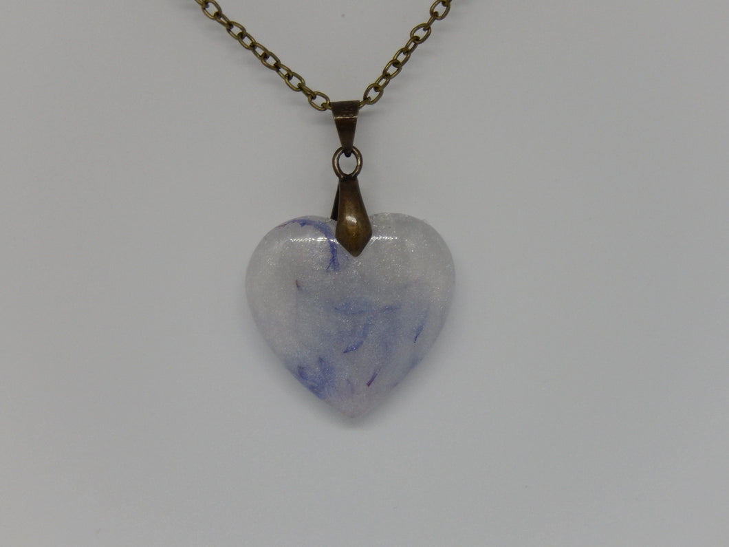 Always Together Heart Pendant - Sterling Silver Chain