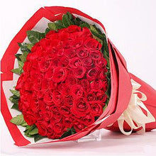 Loving Red Gesture - Hand Tied flowers Mayaflowers