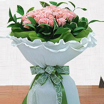 The Pink Lady - Hand Tied Bouquet flowers Mayaflowers