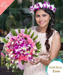 Feminine By Maya Flowers - Free Golden Rose flowers Mayaflowers