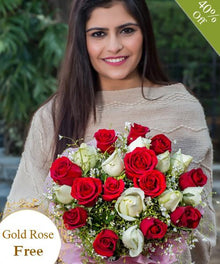 Reflections of Love By Maya Flowers - Free Golden Rose flowers Mayaflowers