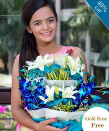 Confidence Flowers By Maya Flowers - Free Golden Rose flowers Mayaflowers