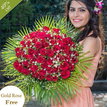 Huge Romantic Love By Maya Flowers - Free Golden Rose flowers Mayaflowers