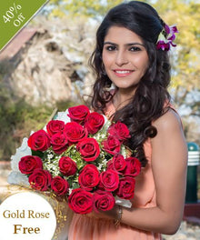 Rose Elegance - Free Golden Rose flowers Mayaflowers