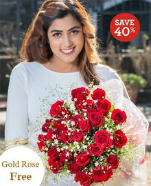 Lovable By Maya Flowers - Free Golden Rose flowers Mayaflowers