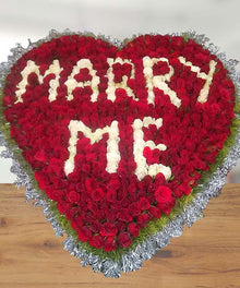 Marry Me - 500 Roses Arrangement flowers Mayaflowers