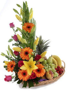 Flowers Decor Fruits Basket flowers Mayaflowers