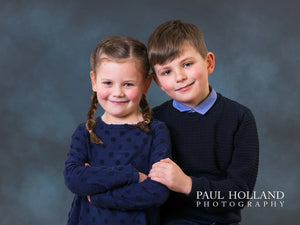 Father's Day Gift - Childrens' Studio Photo Shoot & Fine Art Print Package