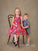 Load image into Gallery viewer, Father's Day Gift - Childrens' Studio Photo Shoot & Fine Art Print Package