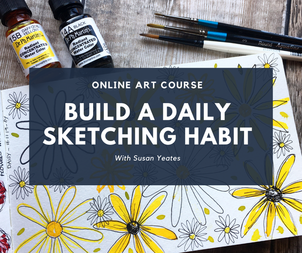 Top Tips for Completing the 30-Day Sketchbook Challenge
