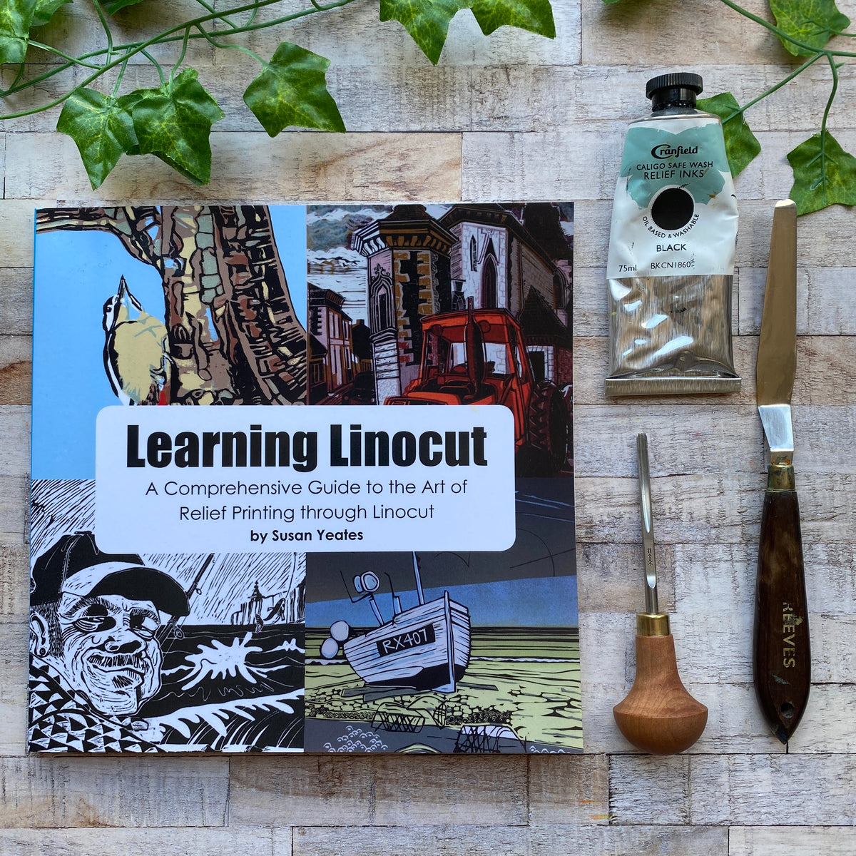 Learning Linocut Book