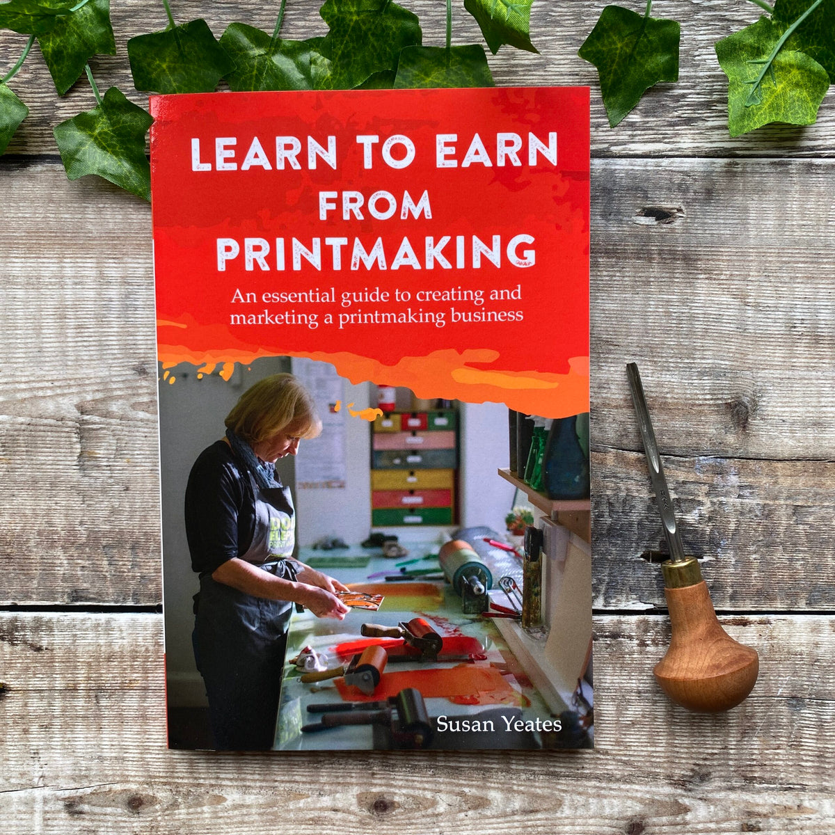 Learn to Earn from Printmaking Book