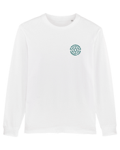 Load image into Gallery viewer, Long Sleeve Logo Tee - Sea Blue