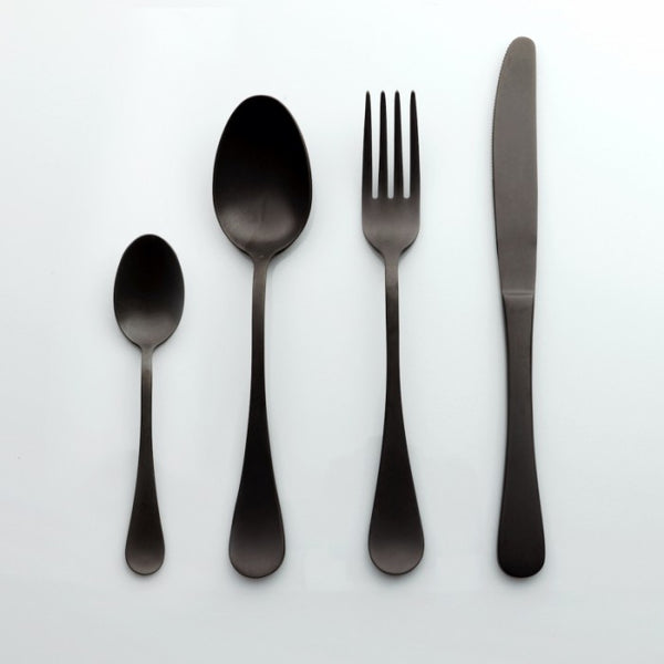 Set di posate - Vintage Black