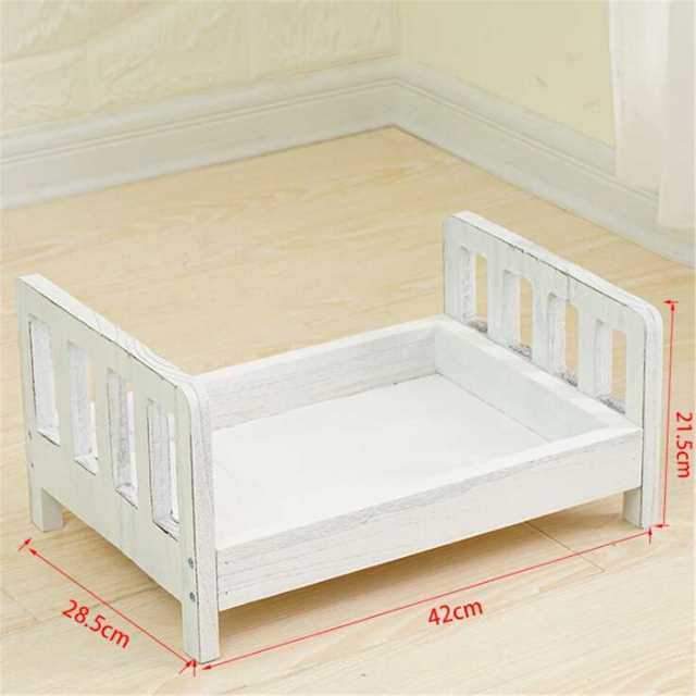 Newborn Props for Photography Wood Detachable Bed