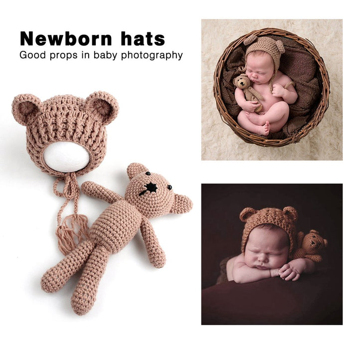 Infant Baby Knitting Crochet Beanies