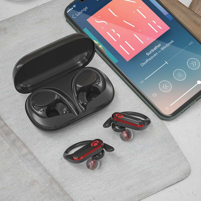 Sport Bluetooth Headphones Wireless Smart Touch