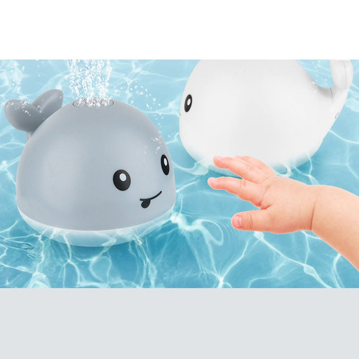 Baby Cute Cartoon Whale Floating Spraying Water